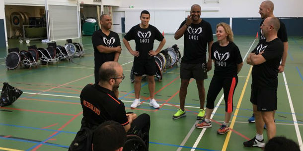 Rolstoelrugbyclinic