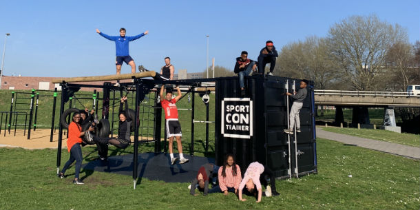 Sportcontainers Venserpolder