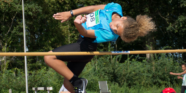 Atletiektalent Eljahro Philipsen (10): ''Je moet veel trainen en gewoon je best doen.''