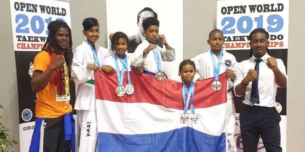 Zuidoost wint zeven prijzen op wereldkampioenschap taekwondo in Italië