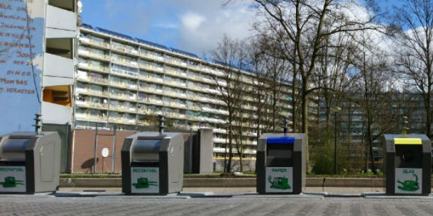 Afvalinzameling Amsterdam