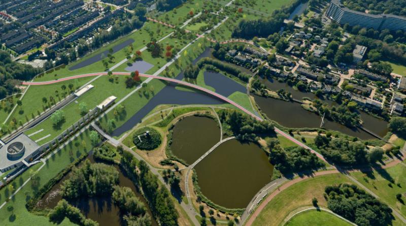 18 mei start bouw parkbrug Reigersbospad