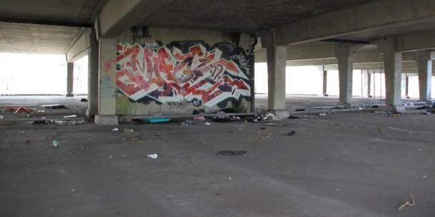 Graffiti in parkeergarage Kempering blijft behouden