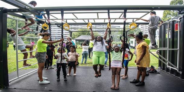 K-Zonesports houdt Zuidoost in beweging