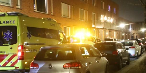 Jongen (16) in been gestoken Kousenbandstraat