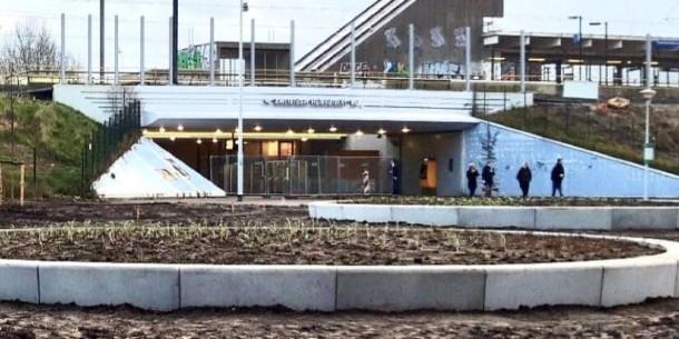 Station Holendrecht opgeknapt
