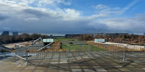 Nieuw park op dak A9 ingericht samen met bewoners