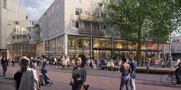 Meer woningen, cultuur en horeca in Amsterdamse Poort