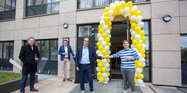 Eerste bewoners nemen intrek in Trinity Buildings in Amstel III