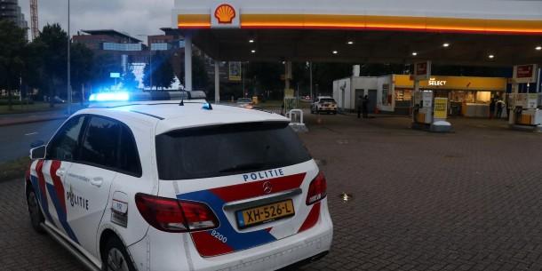 Overval op tankstation, verdachte aangehouden