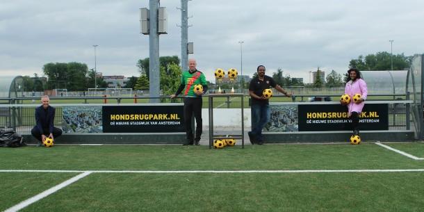 HONDSRUGPARK sponsor van Zuidoost United