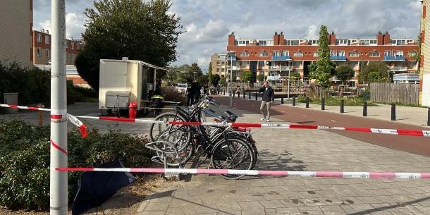 Politie doet onderzoek na schietpartij Krimpertplein