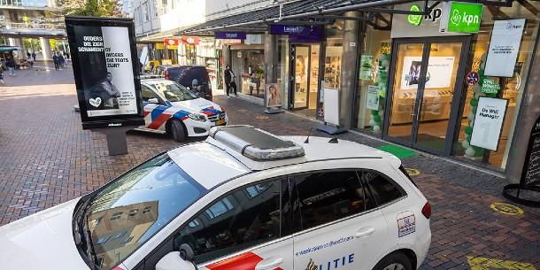 Weer overval op telecomwinkel op het Bijlmerplein
